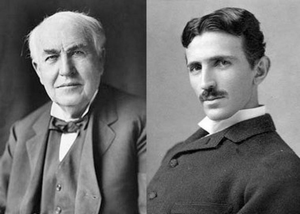 Tomas Edison  - Nikola Tesla